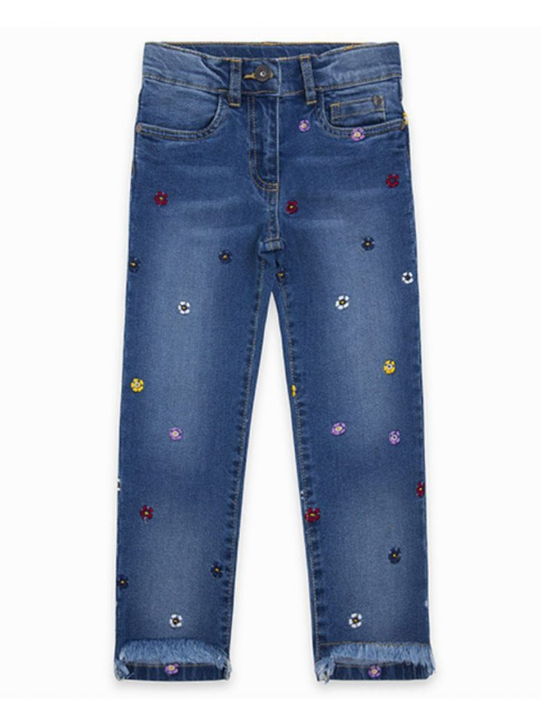 Tuc Tuc Denim Flower Embroidered Jeans
