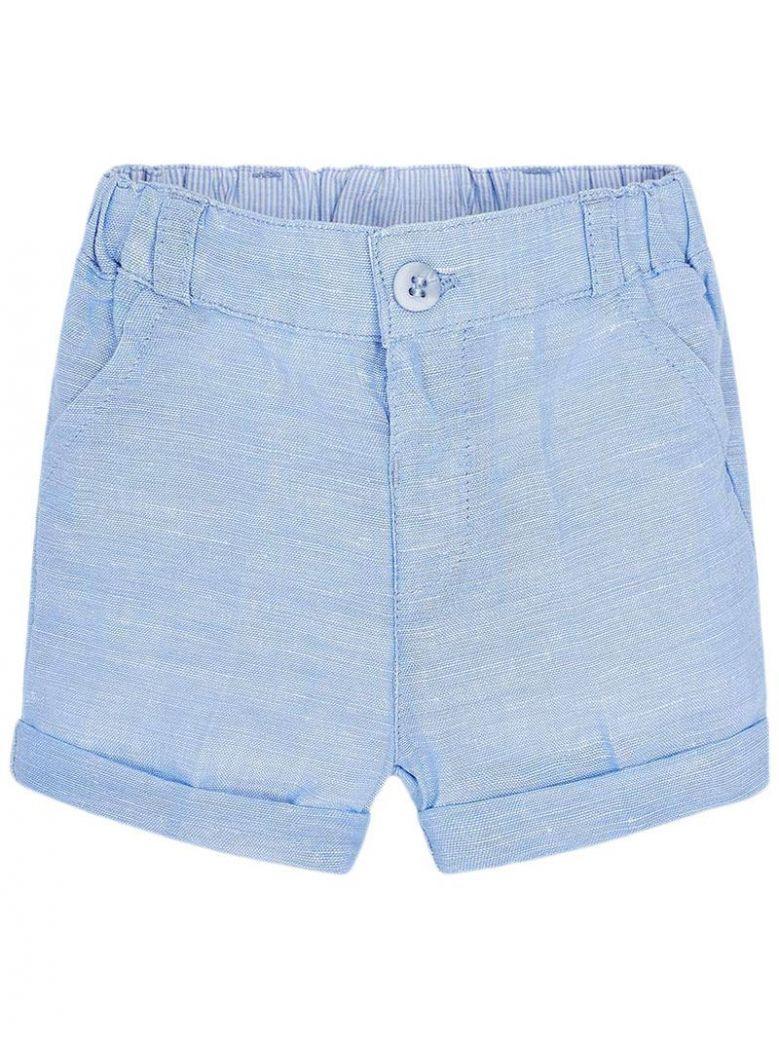 Mayoral Sky Blue Formal Shorts