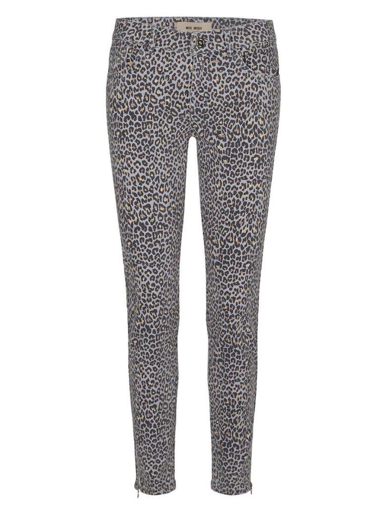Mos Mosh Victoria Leopard Print Skinny Jeans