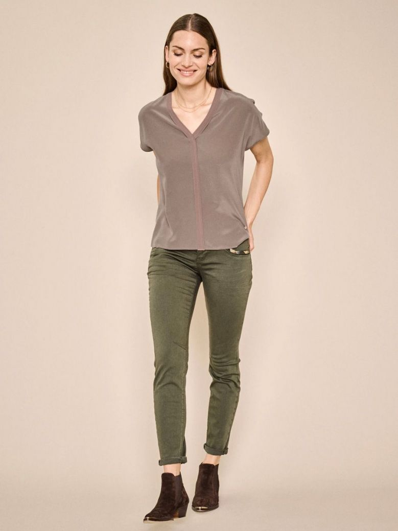 Mos Mosh Khaki Green Naomi Jewel G.D Jeans