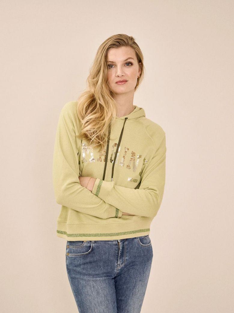 Mos Mosh Ladies Winter Pear Kash Hoodie Sweatshirt