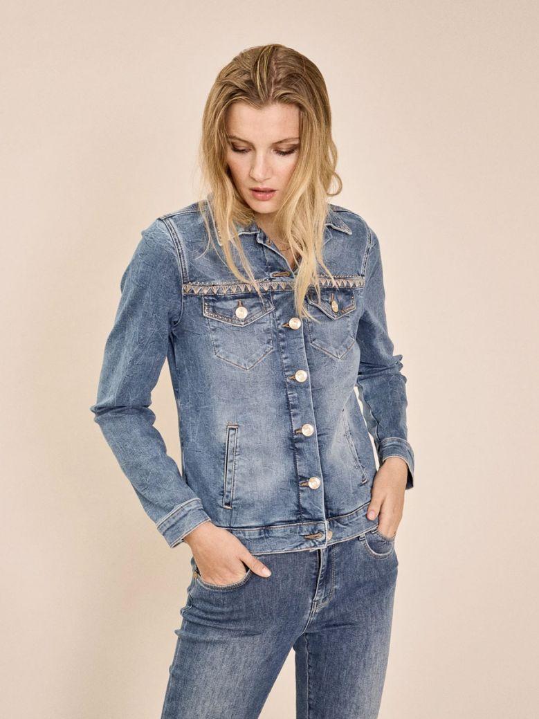 Mos Mosh Ladies Blue Reese Denim Jacket