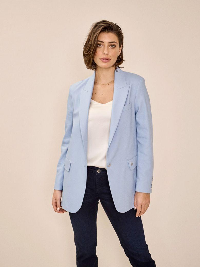 Mos Mosh Ladies Bel Air Blue Terry Night Blazer