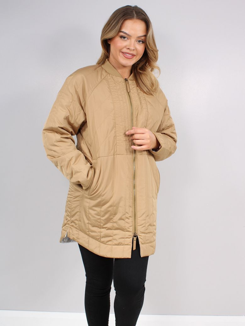 Mos Mosh New Sand Sila Quilted Coat