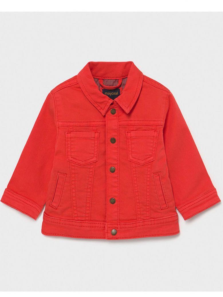 Mayoral Boys Red Denim Jacket