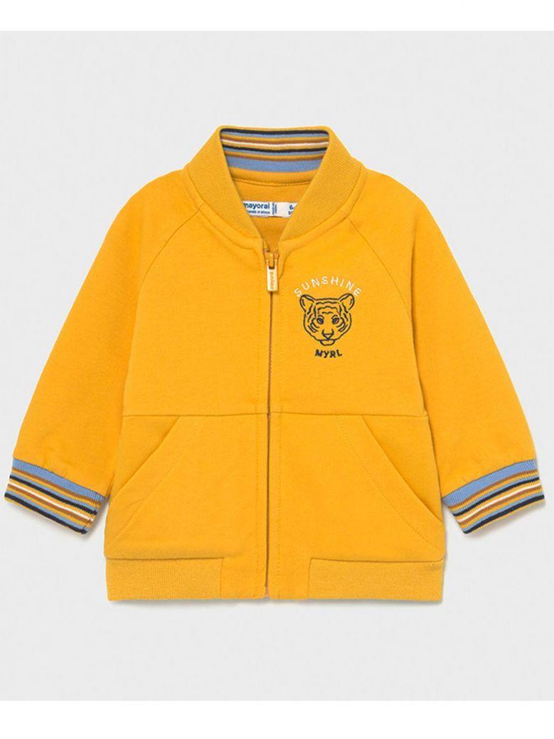 Mayoral Yellow Zip up Jacket