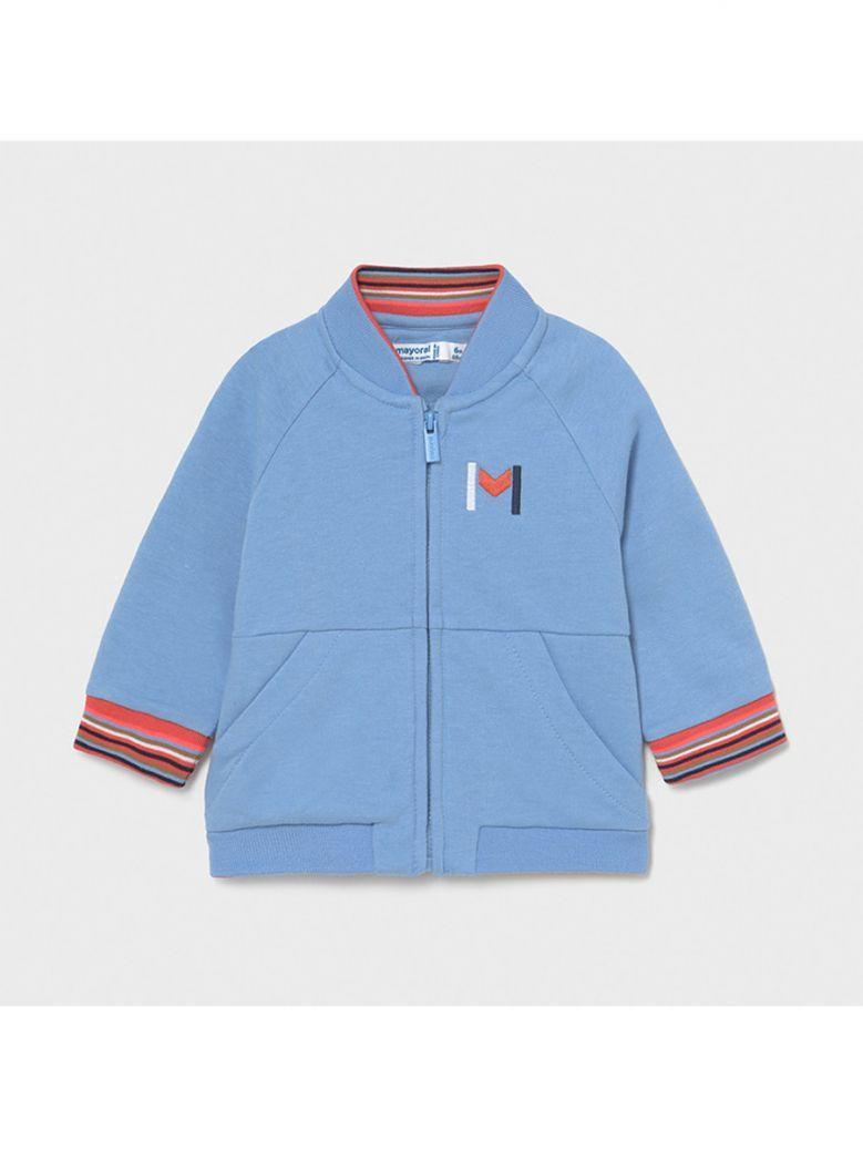 Mayoral Blue Zip Thru Sweatshirt