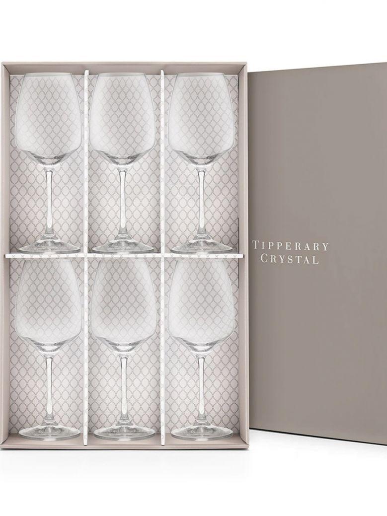 Tipperary Crystal Prestige Wine Glasses - Set of 6