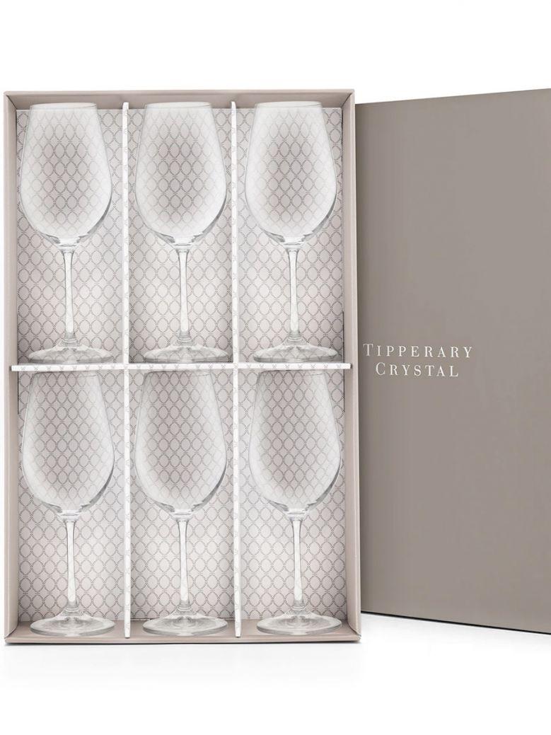 Tipperary Crystal Elegance Wine Glasses - Set of 6