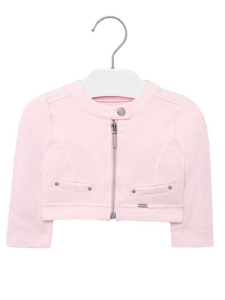 Mayoral Pink Zip Up Jacket