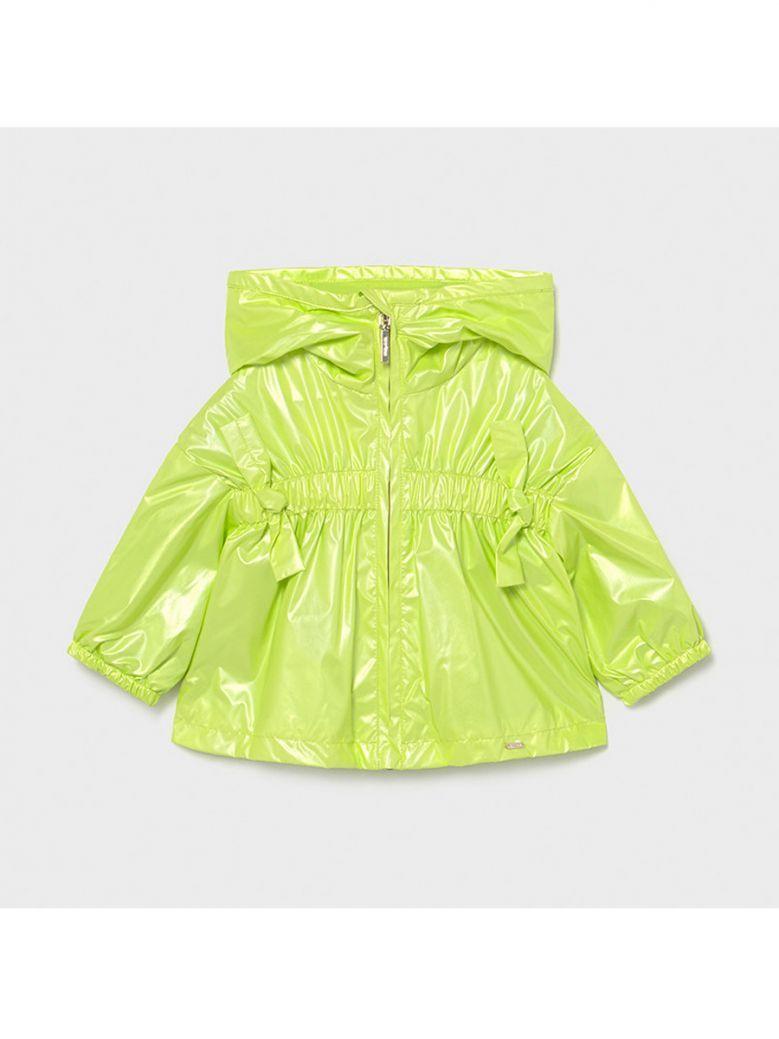 Mayoral Pistachio Green Windbreaker Jacket