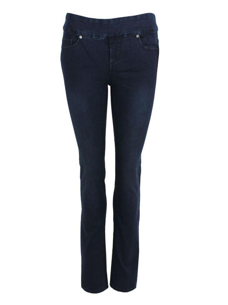 Frank Lyman Blue Straight Jeans