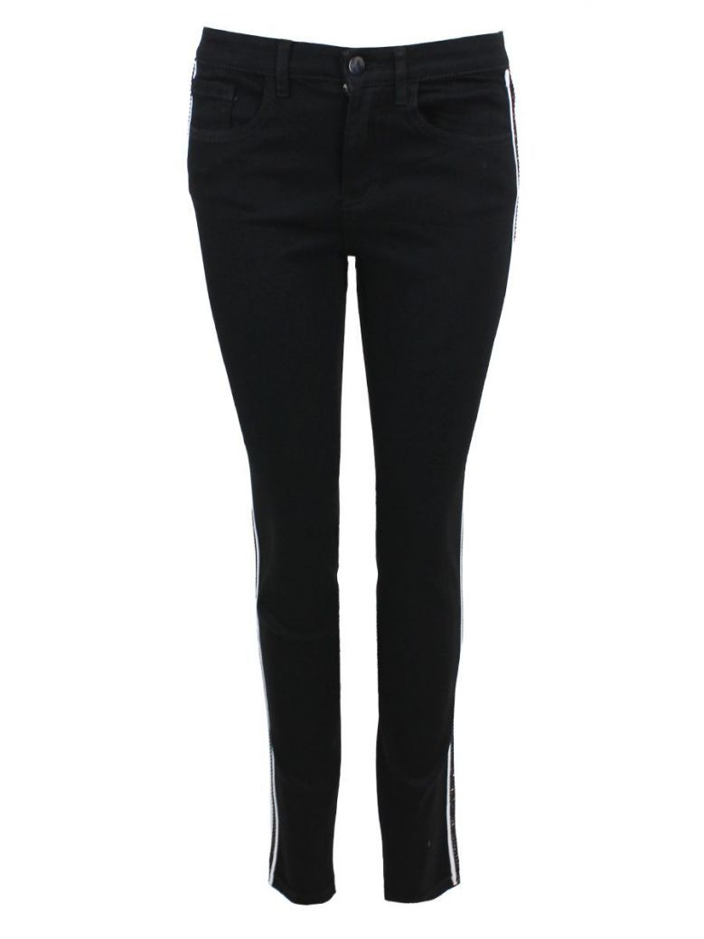 Frank Lyman Black Diamond Detail Skinny Jeans
