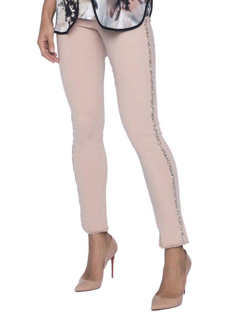 Frank Lyman Rose Pink Skinny Jeans