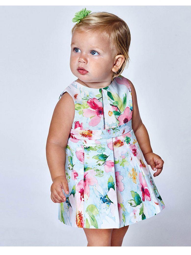 Mayoral Multicoloured Floral Print Dress