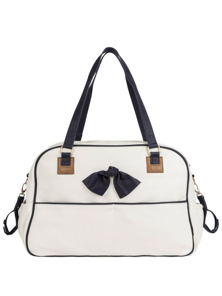 Mayoral White Leatherette Changing Bag