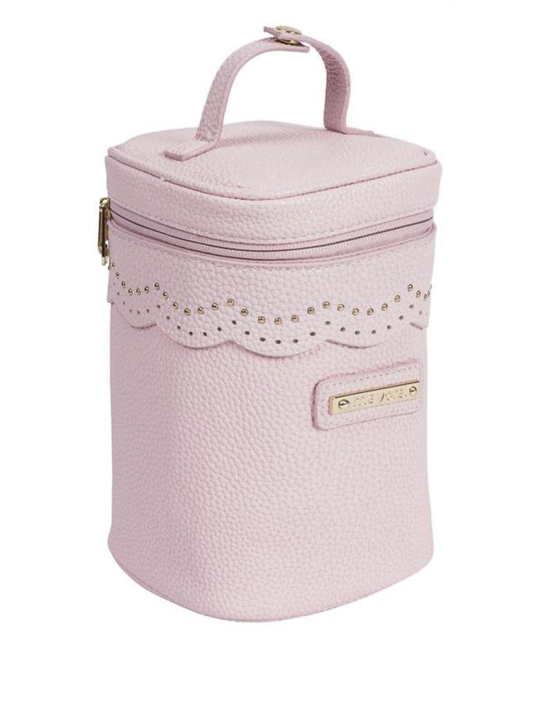 Mayoral Pink Leatherette Bottle Cooler