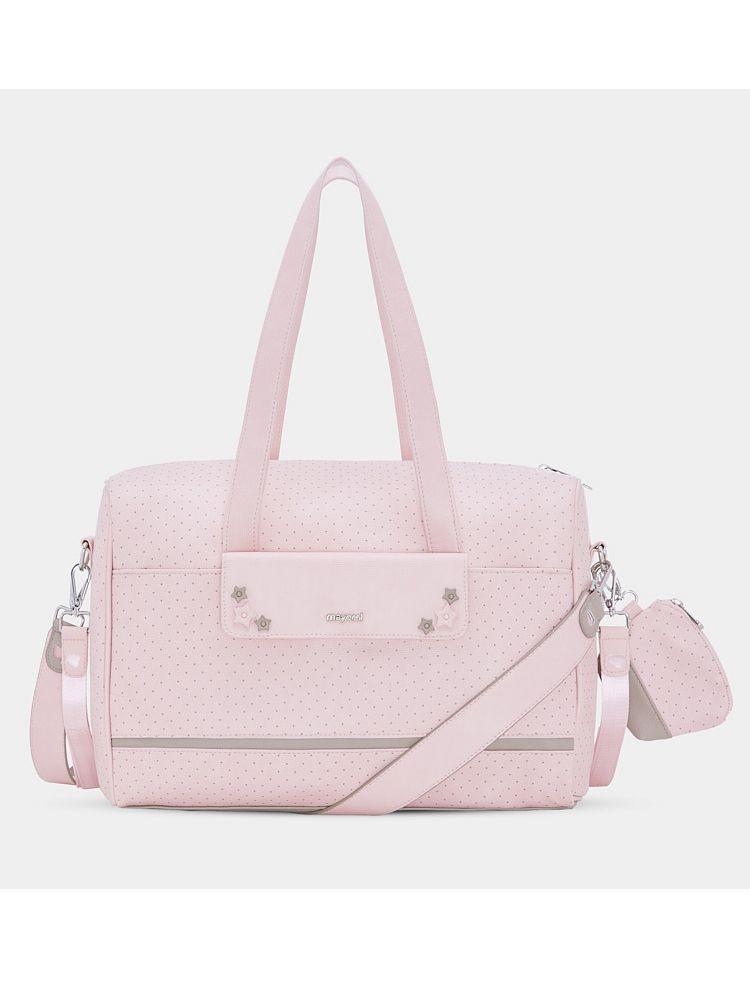 Mayoral Pale Pink Baby Changing Bag