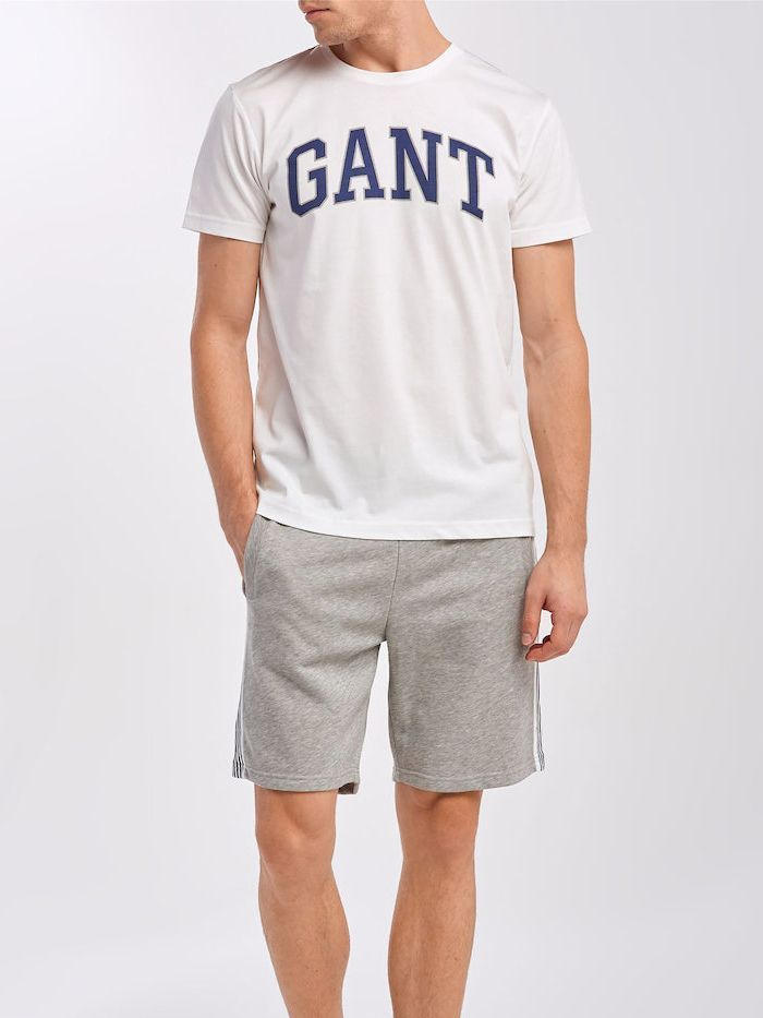 Gant Eggshell Arch Outline T-Shirt