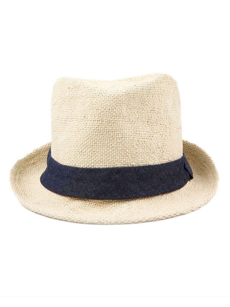 Joules Natural Trilby Sun Hat