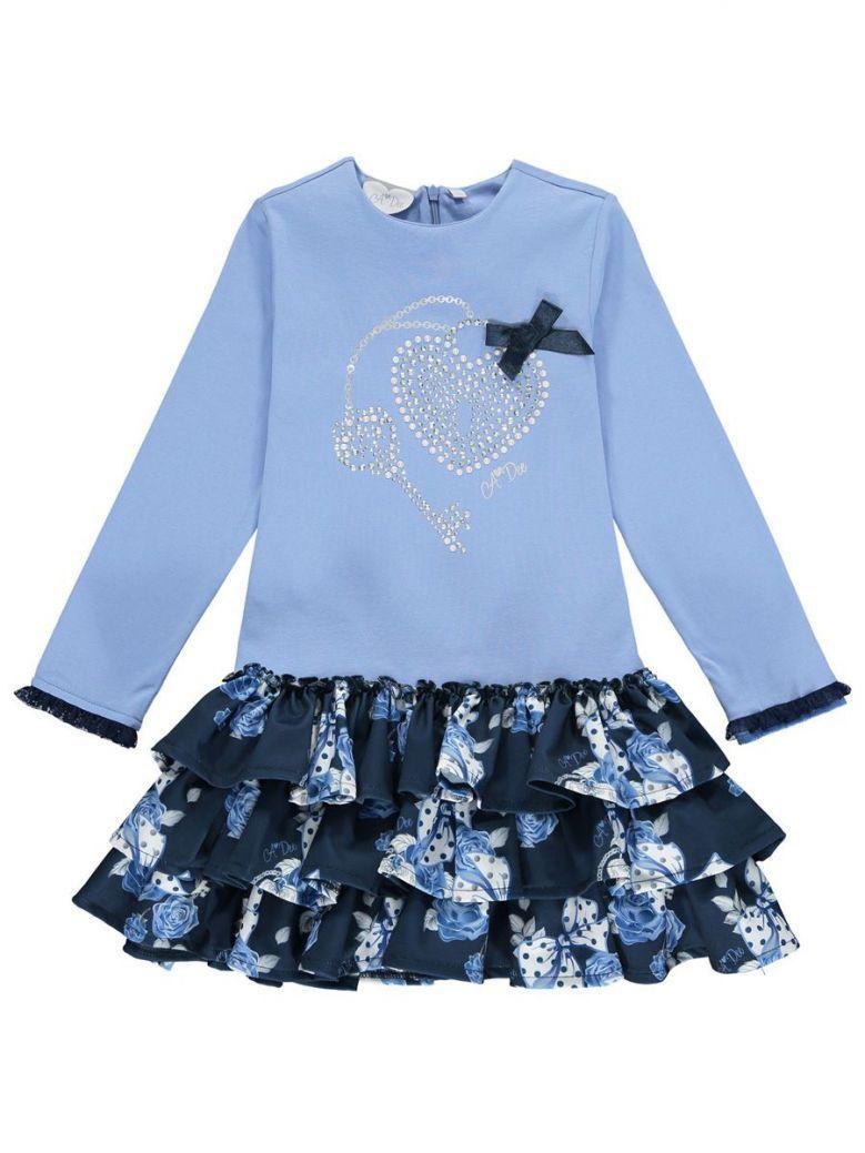 A Dee Blue Harlie Flared Dress
