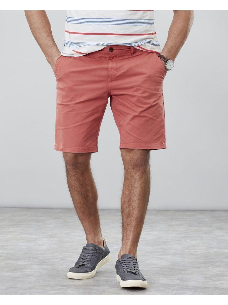Joules Burnt Orange Stretch Chino Shorts