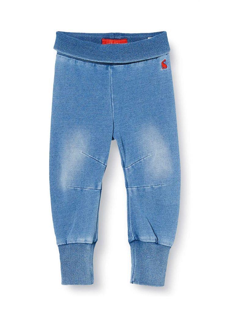 Joules Light Wash Hugo Jersey Denim Trousers