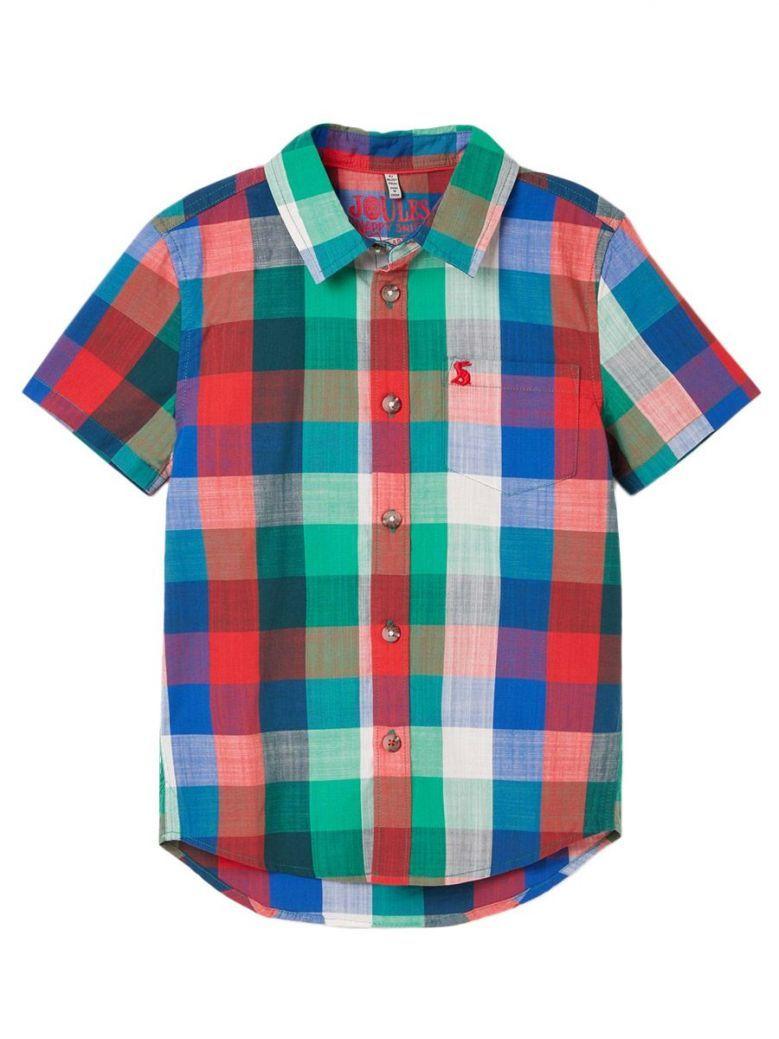 Joules Multi Check Elwood Saltwash Shirt