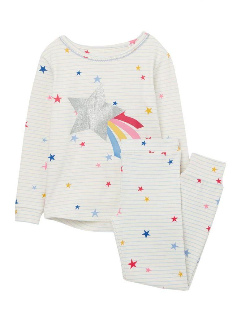 Joules Blue Stripe Star Sleepwell Horse Pyjama Set