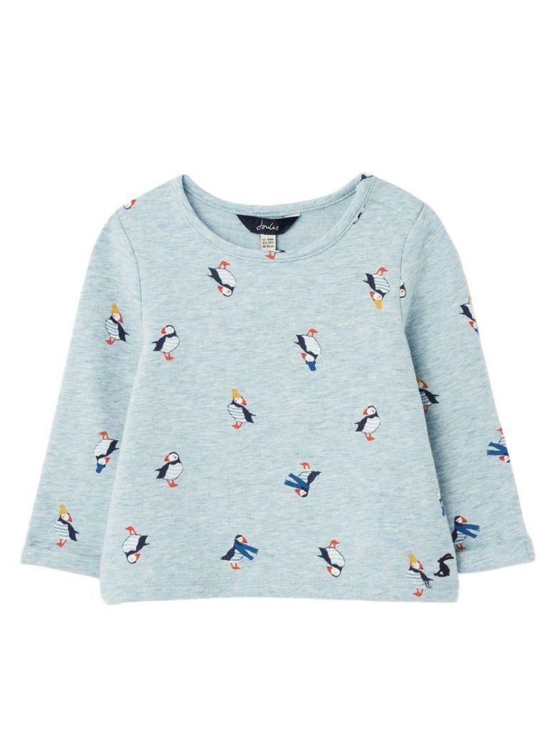 Joules Blue Puffins Sweatshirt