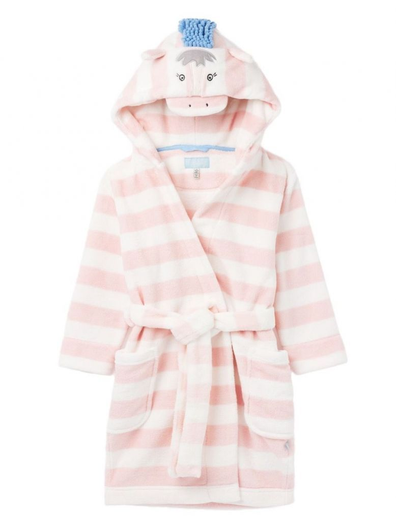 Joules Jasmine Stripe Horse Giddy Dressing Gown