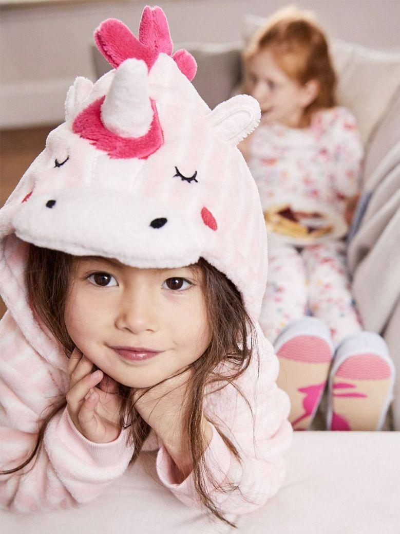 Joules Pink Unicorn Stars Novelty Character Onesie
