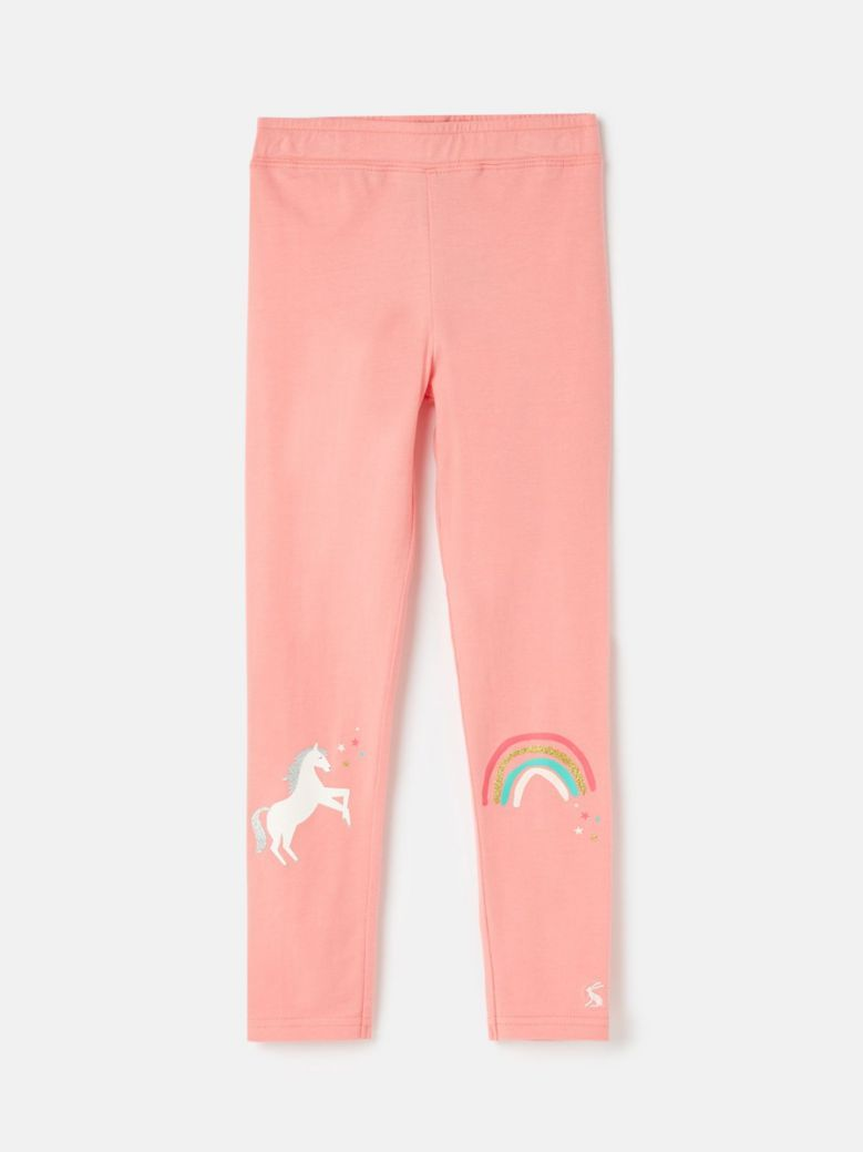 Joules Pink Icons Emilia Luxe Leggings