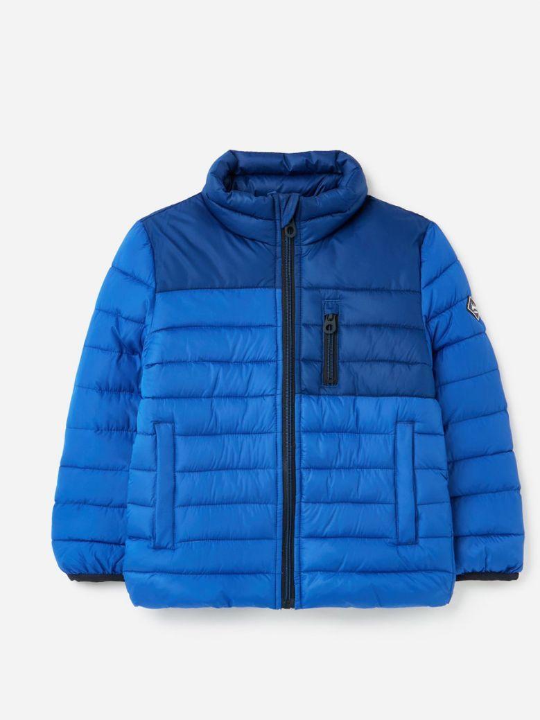 Joules Kids Dark Blue Reid Recycled Padded Jacket