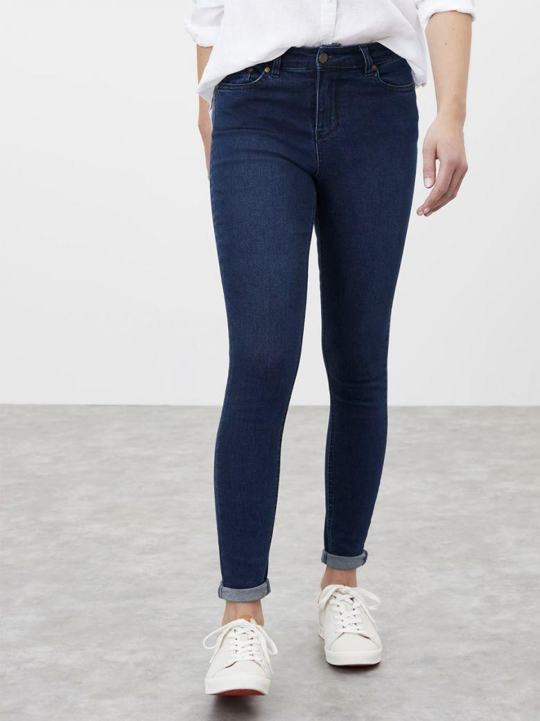 Joules Ladies Indigo Monroe High Rise Skinny Jeans