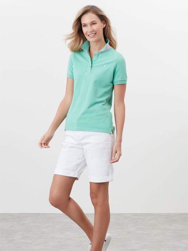 Joules Ladies Fresh Green Pippa Polo Shirt