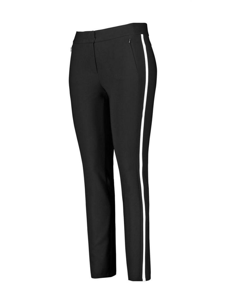 Samoon Black Stripe Trousers