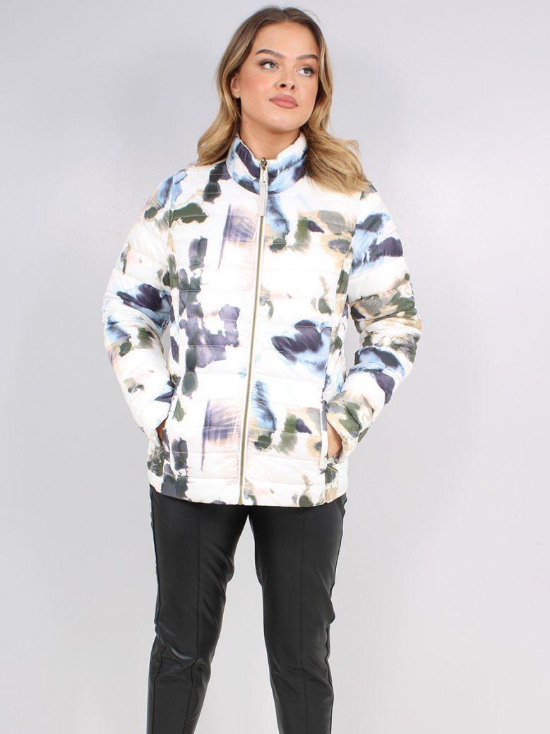 Frandsen Ladies Multi-Coloured Reversible Padded Jacket