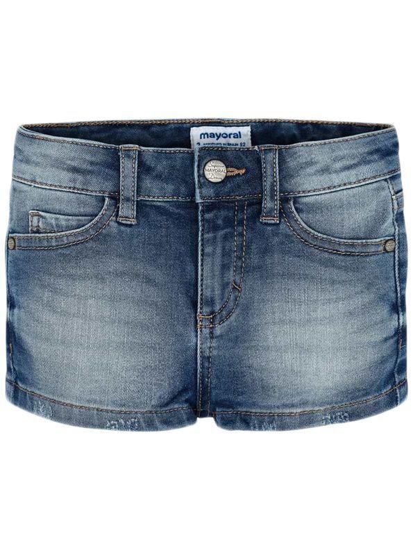 Mayoral Girls Denim Shorts