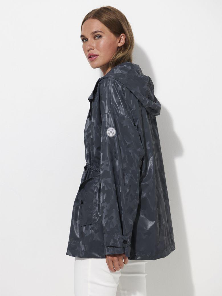 Frandsen Dark Grey Camo Raincoat