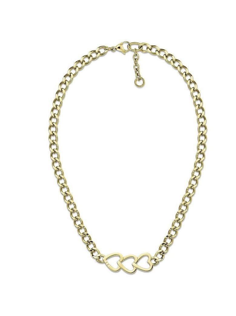 Tommy Hilfiger Gold Heart Chain