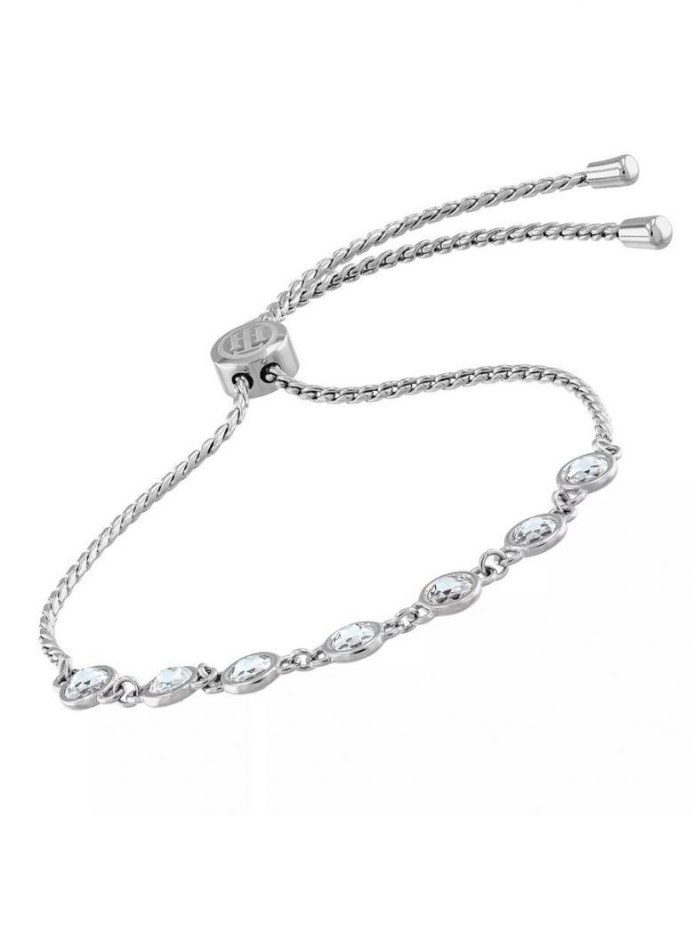 Tommy Hilfiger Silver Plated Embellished Bracelet