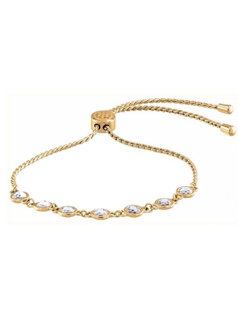 Tommy Hilfiger Gold Plated Embellished Bracelet