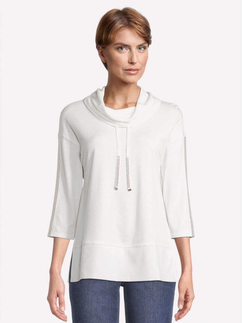 Betty Barclay White Sweatshirt