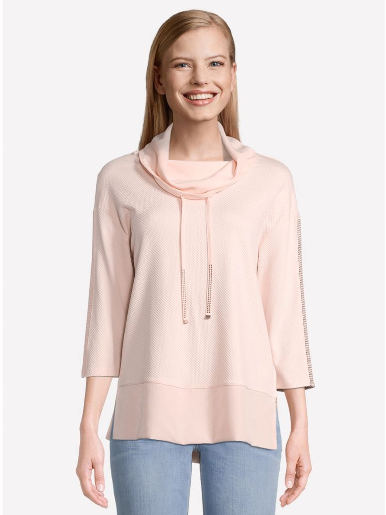 Betty Barclay Peach Sweatshirt