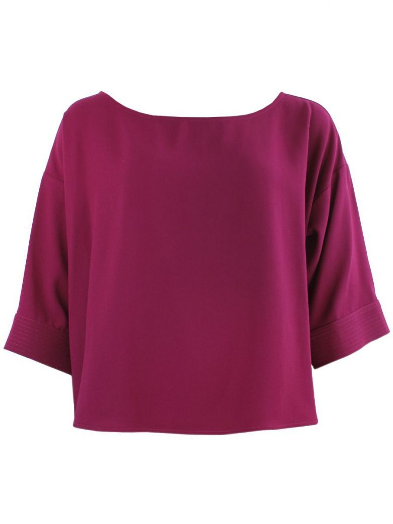 Access Fashion Purple Oversized Blouse