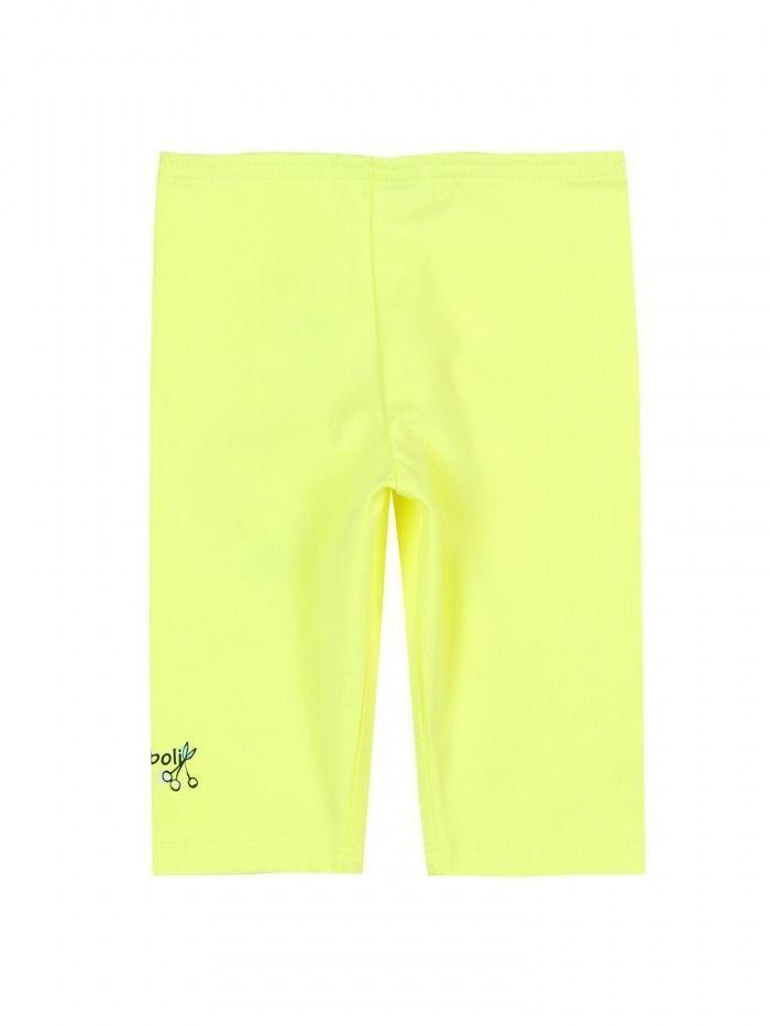 Boboli Yellow Cropped Leggings