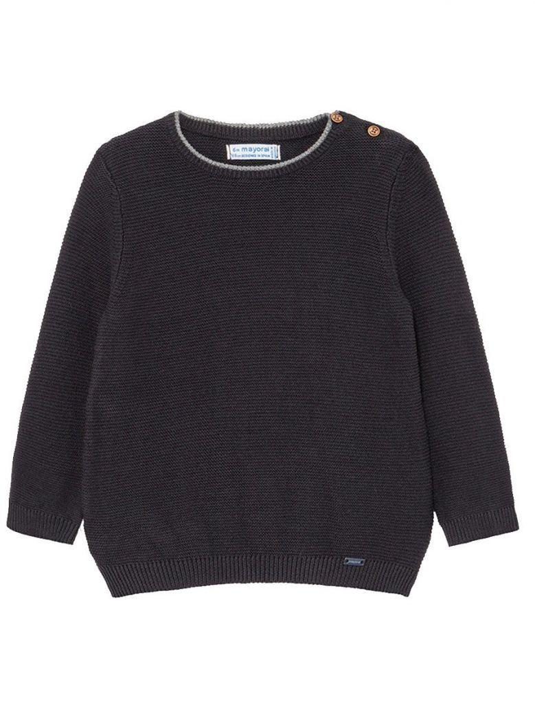 Mayoral Navy Crew Neck Sweater