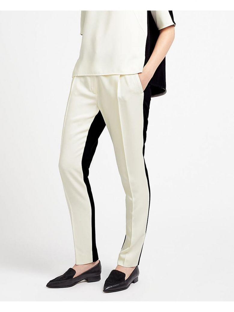 Marella Black & Cream Agostin Trouser