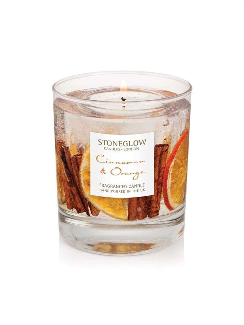 Stoneglow Seasonal Collection Cinnamon & Orange Natural Wax Tumbler